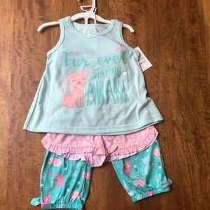 Other - 3 piece pajama set